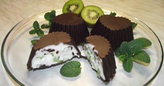 Шоколадно-творожный десерт. Рецепт, фото 10