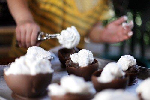 Шоколадні корзинки своїми руками - фото 5