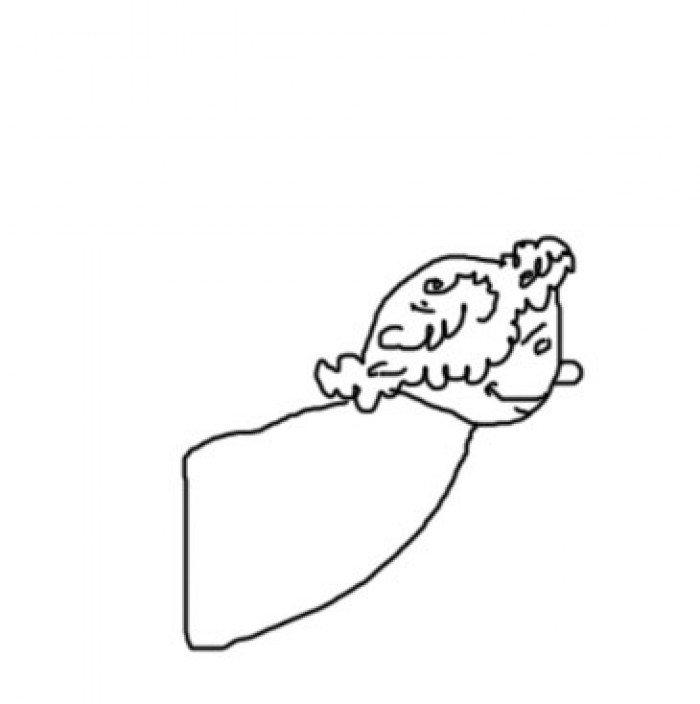 Как нарисовать ангела схема 3, шаг 3