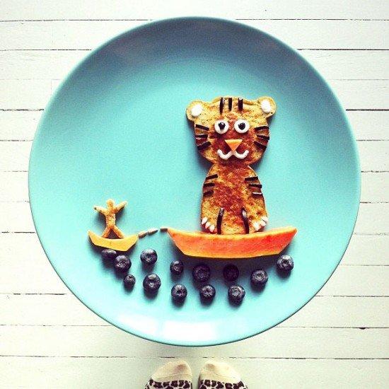 Креативные и полезные завтраки для детей - фото 6