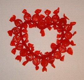Як зробити серце з цукерок своїми руками - фото 4