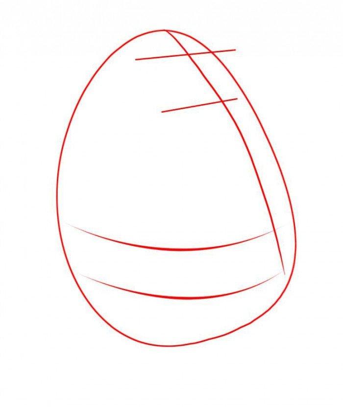 Как нарисовать Миссис Пафф поэтапно, шаг 2