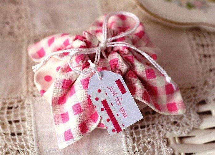 Подарочные мешочки своими руками, фото