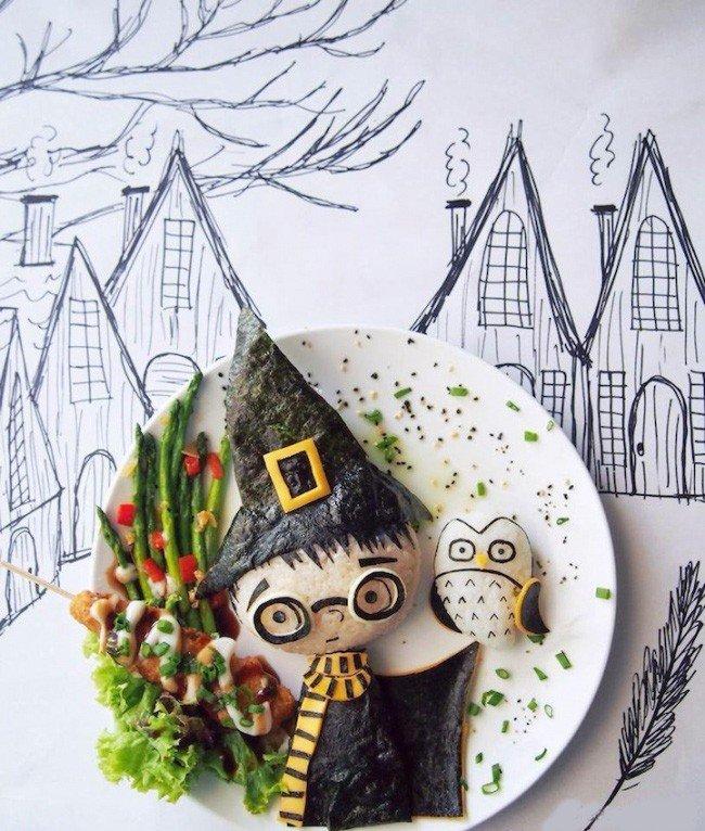 Картины из еды от Саманты Ли – фото 6