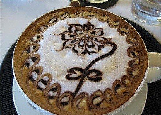 Латте-арт (рисунки на кофе) — фото 19
