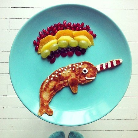 Креативные и полезные завтраки для детей - фото 3