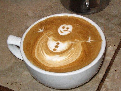 Латте-арт (рисунки на кофе) — фото 3