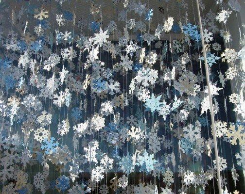 Домашний снегопад