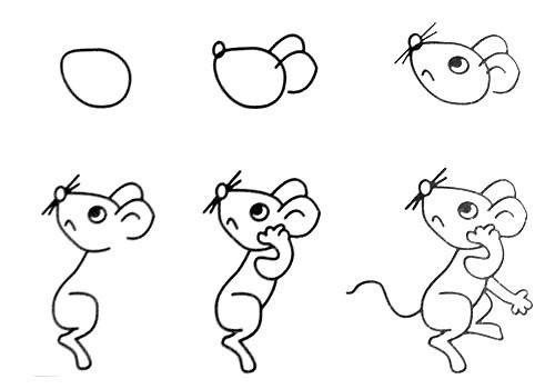 Как нарисовать мышку поэтапно, фото 30