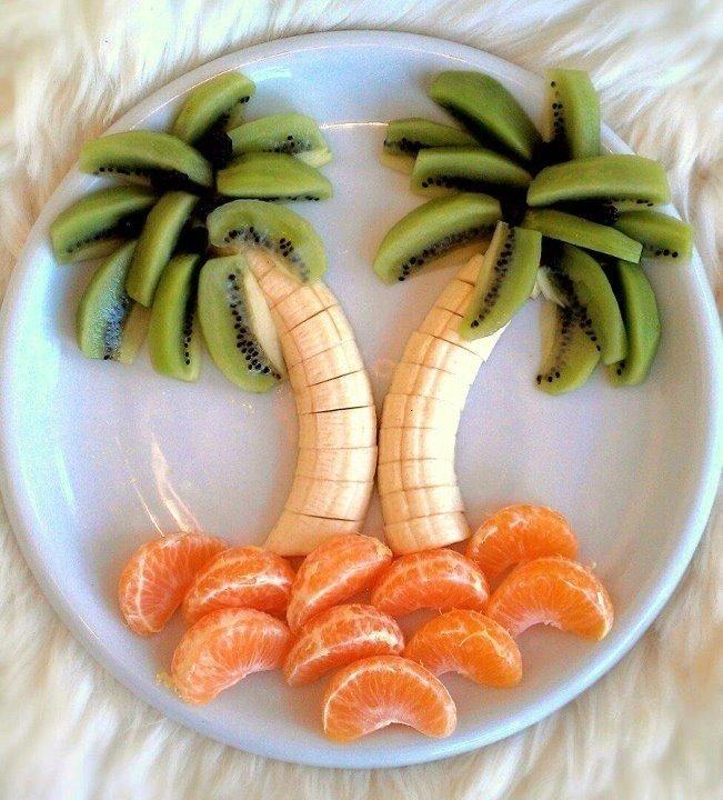 Как красиво подать фрукты к столу. Оформление фруктовой нарезки - фото 5