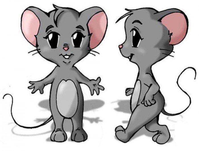 Как нарисовать мышку поэтапно, фото 22