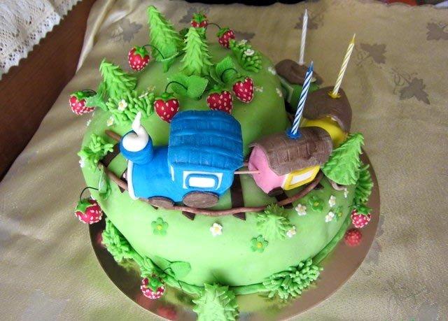 Фото детских тортов