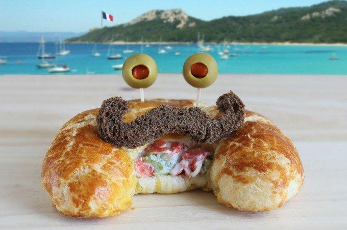 Вкусные сендвичи на завтрак. Идеи праздничных бутербродов для детей - фото 4