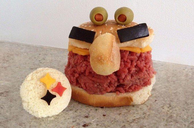 Вкусные сендвичи на завтрак. Идеи праздничных бутербродов для детей - фото 2