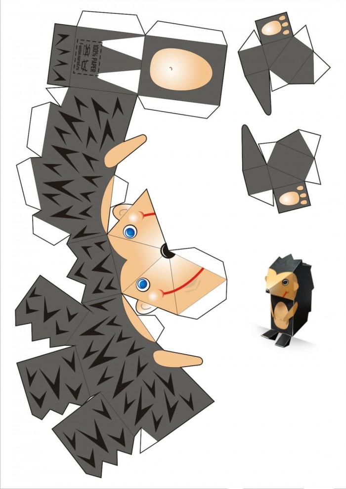 Объемные игрушки своими руками из бумаги схемы