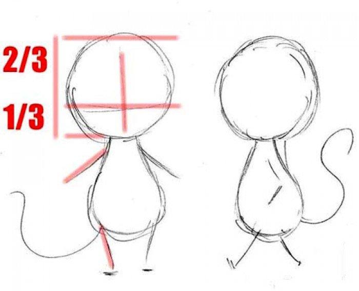 Как нарисовать мышку поэтапно, фото 18