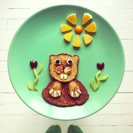 Креативные и полезные завтраки для детей - фото 12