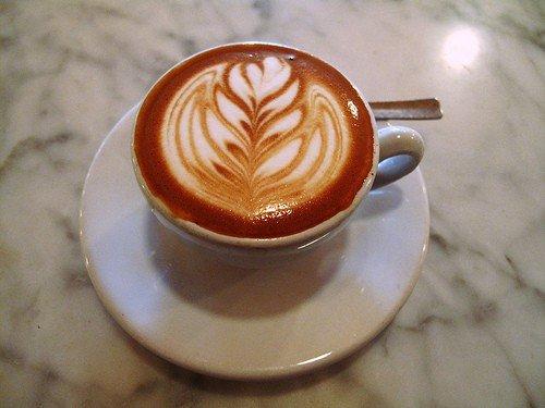 Латте-арт (рисунки на кофе) — фото 21