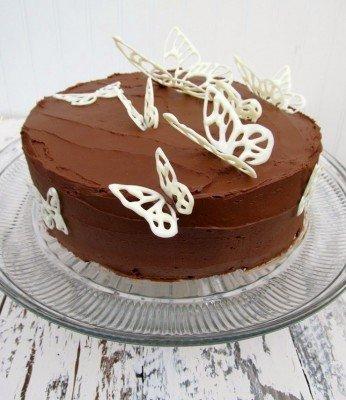 Как украсить торт для мамы своими руками