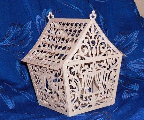 Волшебный бумажный домик