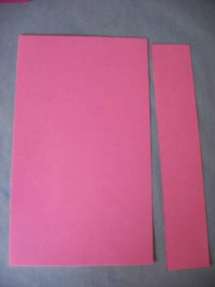 Листівка на День Святого Валентина з паперу, фото 5