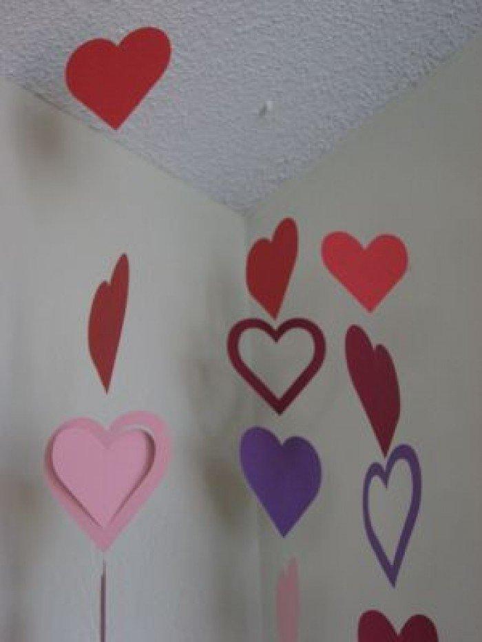 Валентинка з паперу своїми руками, спосіб 2