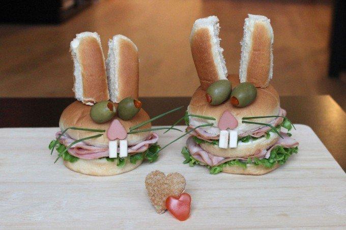 Вкусные сендвичи на завтрак. Идеи праздничных бутербродов для детей - фото 5