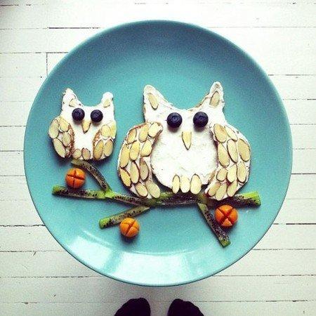Креативные и полезные завтраки для детей - фото 18