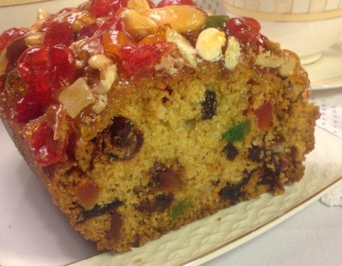 Рецепт рождественского кекса