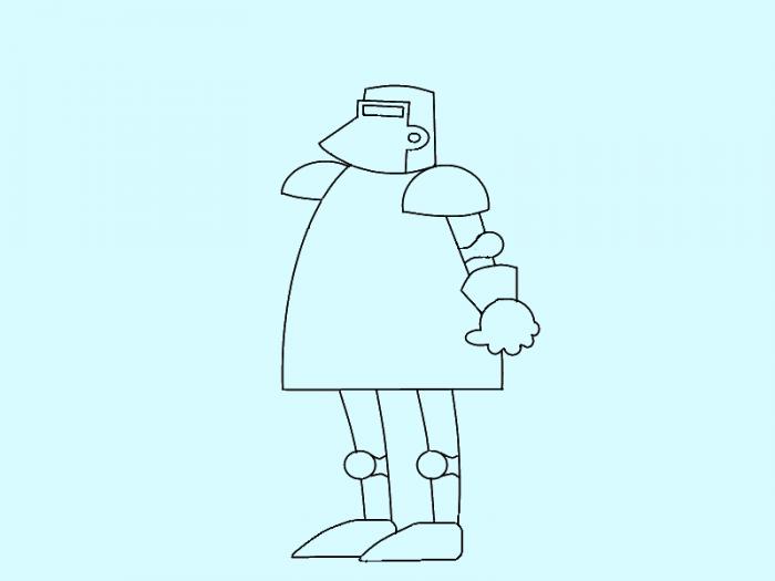 Как нарисовать рыцаря поэтапно, фото 7