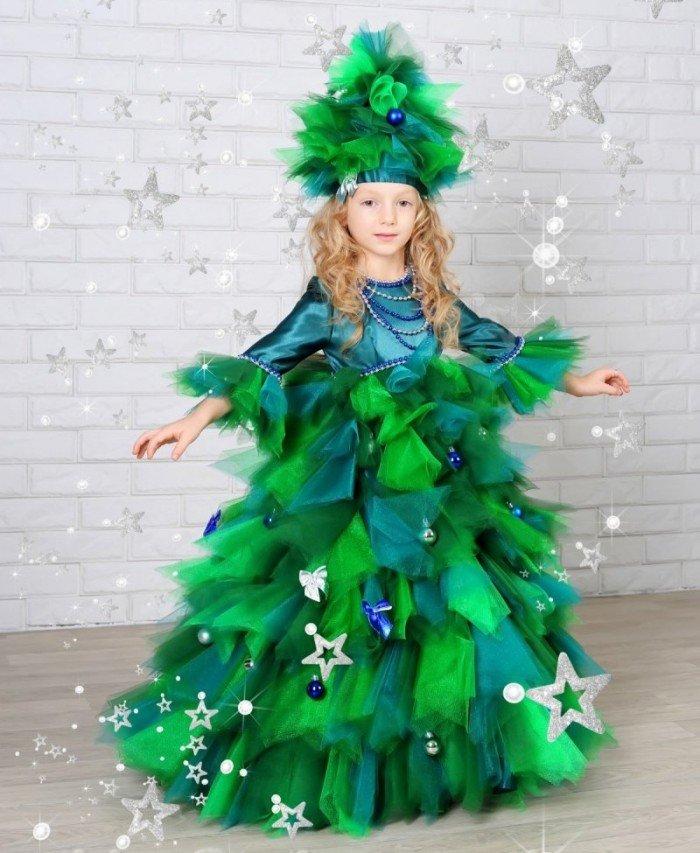 Как сделать новогодний костюм елочки фото 421