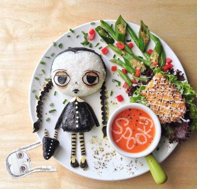 Картины из еды от Саманты Ли – фото 13