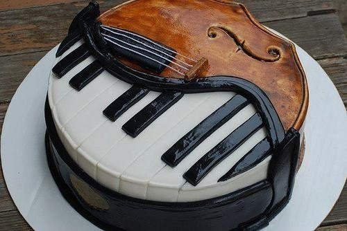 Украшения тортов – фото