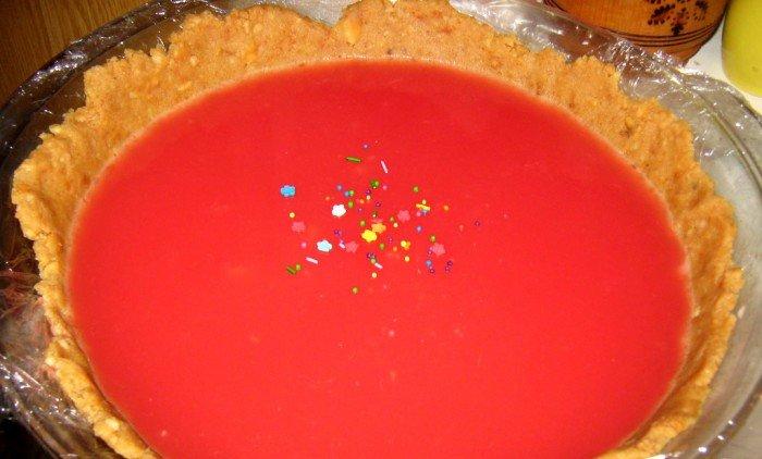 Как сделать торт-желе из арбуза. Арбузный торт без выпечки – фото 5