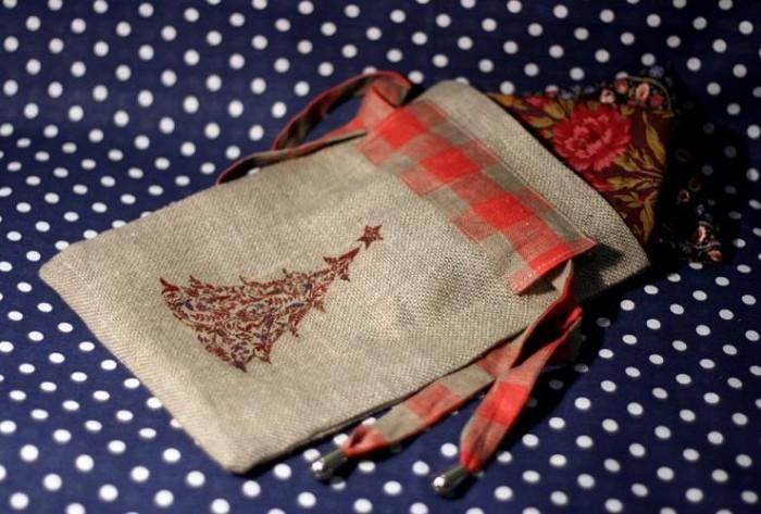 Сшить упаковку для подарков своими руками