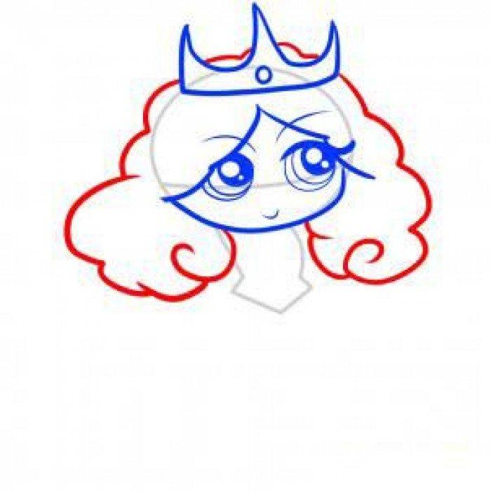 Как нарисовать принцессу, фото 6
