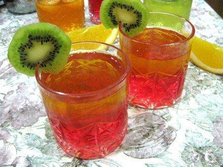 Простой десерт из желе с фруктами - фото 6