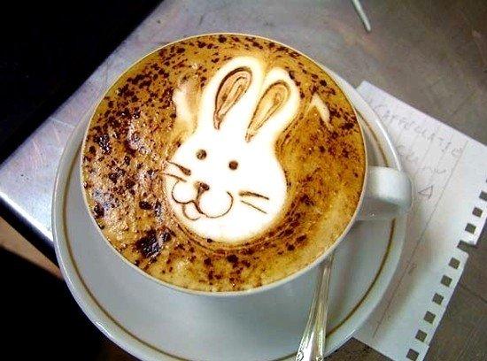 Латте-арт (рисунки на кофе) — фото 20