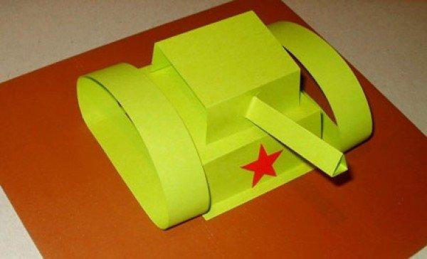 как сделать танк из бумаги своими руками фото инструкция - фото 6