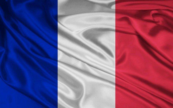 Национальный флаг Франции