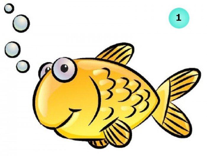 як намалювати рибку