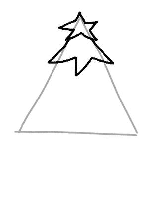Как нарисовать елку, фото 10