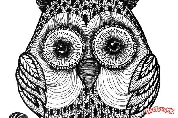 Рисуем животных в технике «зентангл»