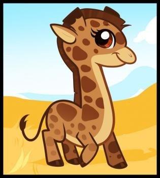 Как нарисовать жирафа поэтапно, фото 9