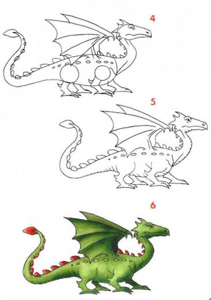 Як малювати дракона