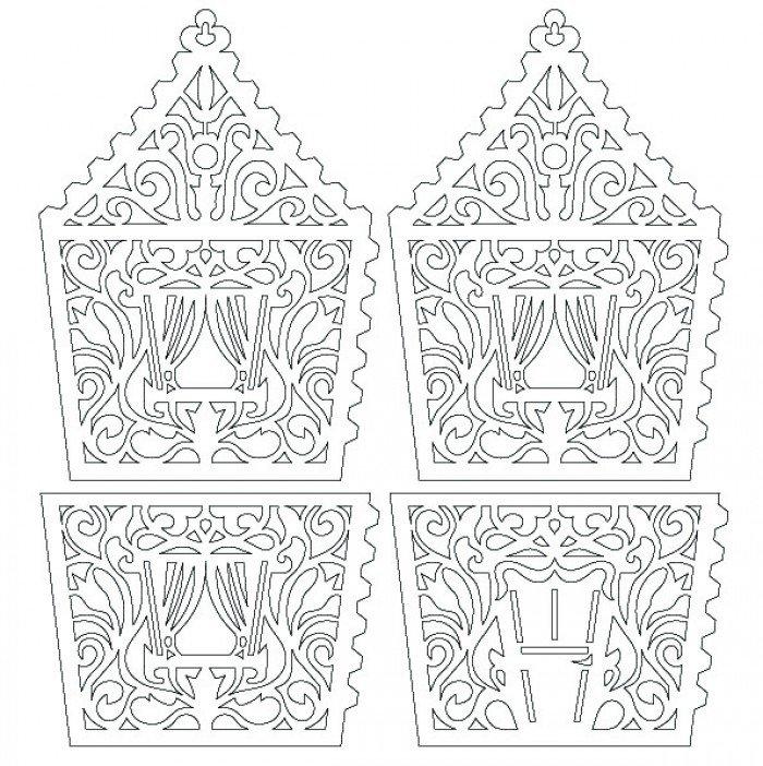 Сохрани схемы деталей домика