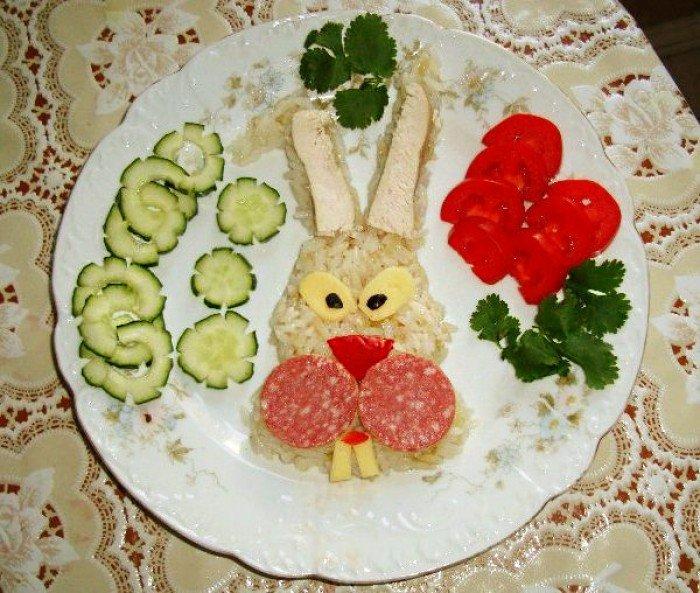 Интересные детские блюда