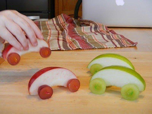 Як красиво подати фрукти до столу. Оформлення фруктової нарізки - фото 11