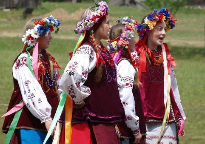Украинский венок своими руками
