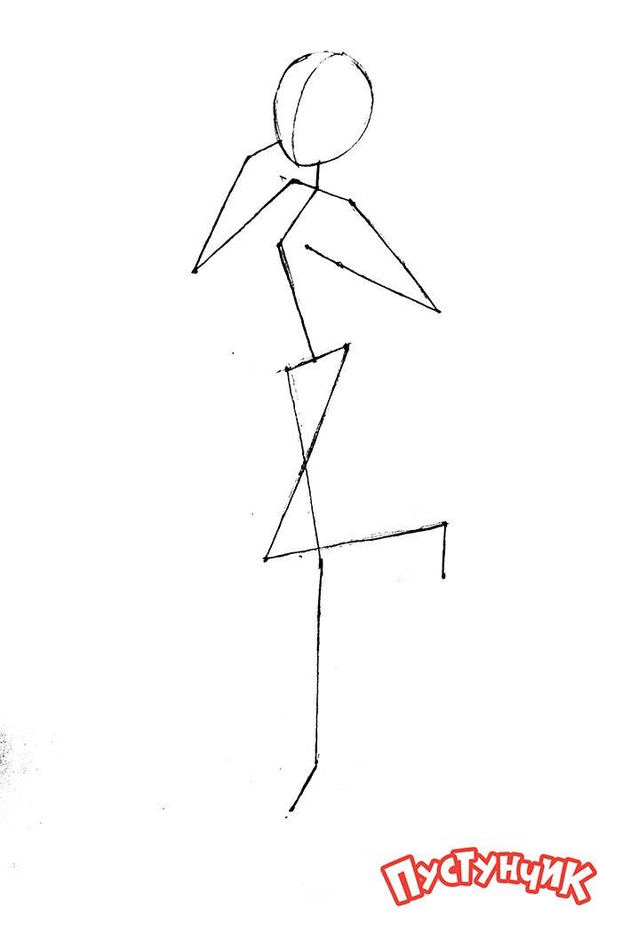 Как нарисовать Монстер Хай - Дракулаура, фото 11